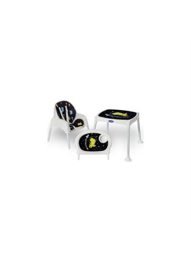 Polesie Polesie Astro Dinolu Masalı Lüx Mama Sandalyesi Renkli